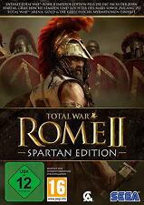 Total War: Rome II - Spartan Edition (PC/Mac, 2015, DVD-Box)