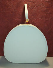 Vintage Luzier Ivory Sample Case Travel Cosmetics Theater Dance Train Nice!