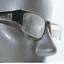 Bold Boss Chunky Red Black Top Frame Invisible Lens Reading Glasses +2.75 Lens