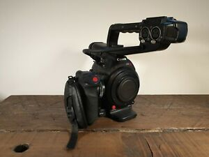Canon EOS C100 Mark ii MK 2 Camcorder with batteries and box