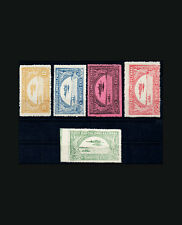 VINTAGE: COLOMBIA 1920 OG NH SCOTT C12-16 $ 395 EST NH LOT #COL1921AW