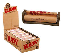 Caja de liadoras RAW plastico de cáñamo biodegradable 70 mm, 12 unidades