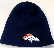 NEW! 47 Brand NFL Denver Broncos Knit Cuffless Beanie Cap