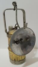 BIG BOY CARBIDE COAL MINER LAMP - MADE IN THE USA - BRASS - ANTIQUE VINTAGE