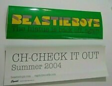Beastie Boys Summer 2004 Promo Sticker