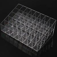 40 Trapezoid Makeup Display Lipstick Stand Case Cosmetic Organizer Holder FI