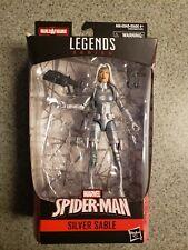 """Marvel Legends 6"""" Spider-Man Silver Sable Figure Kingpin NO BAF Series"""