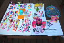 VTG HTF Huge CUTE Lot 90'S Polly Pocket DOLLS TOYS MISC PARTS AND PIECES SETS
