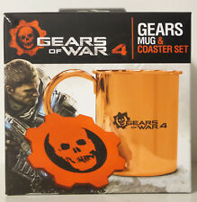 Gears of War 4 Mug and Coaster Set Limited Edition BRAND NEW & SEALED