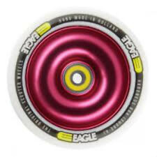 Eagle Full Core Scooter Wheel White / Red 110mm Metal Core New (last one)