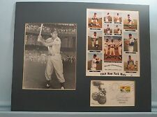 New York Mets - 1969 World Champs & Commemorative Cover + Gil Hodges autograph