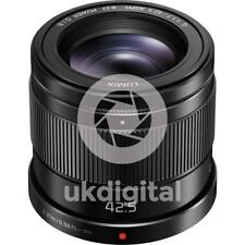 Panasonic Lumix G 42.5 mm f/1.7 Power OIS ASPH. Lens (Black)