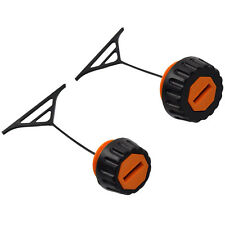 HQRP Gas/Fuel Cap and Oil Tank Cap for Stihl Chainsaws 00003500520 / 00003500510