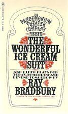 The Wonderful Ice Cream Suit  Ray Bradbury Science Fiction 1972 Near Fine