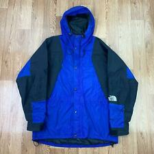 Vintage 90s THE NORTH FACE Mens MOUNTAIN LIGHT Jacket | GORETEX | Large L Blue