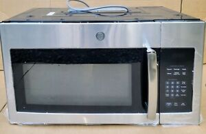 GE 1.6 Cu. Ft. 1000W Over-the-Range Microwave Oven in Stainless Steel JVM3162