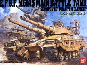 Bandai 1/35 E.F.G.F M61A5 (Type61) Main Battle Tank(New)