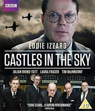 Castles in the sky Eddie Izzard sealed bbc blu ray.sent 1st class post free (uk)