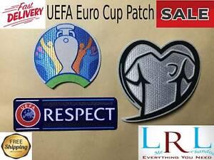 Set of 2020 2021 European UEFA Euro Cup Qualifiers Football Soccer Shirt Jersey
