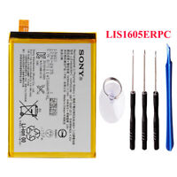 New Genuine OEM LIS1605ERPC Battery For SONY Xperia Z5 Premium E6853 E6883+Tools