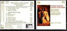 CD 1386  MARIN MARINAS SAINTE COLOMBE THE GREATEST MASTERWORKS