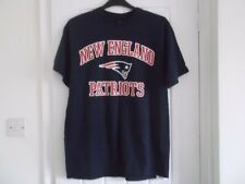 NEW ENGLAND PATRIOTS NFL T-SHIRT LARGE SIZE 42 INCH MAJESTIC MAKE