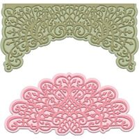 Heartfelt Creations Cut And Emboss Dies, Multi-colour, 21.59 x 12.44 x 0.38cm -
