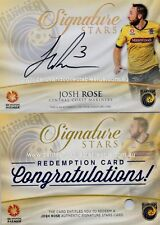 """2015-16 Tap N Play A League Signature Cards SS 05 Josh Rose #3 """"Jersey Number"""""""