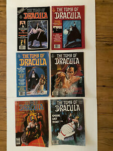 The Tomb Of Dracula Vol. 1-6 (Marvel) 1979