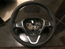 FORD FIESTA STEERING WHEEL FULL LEATHER CRUISE CONTROL GENUINE 2013-2017