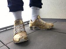 Gayle neue Nike Shox NZ Gold / White EUR 42,5 UK 8 US 10