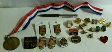UPS medal pin employee Olympics 1990s era Leadership large lot vintage airplane