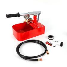Manual Hydraulic Pressure Test Pump Hand Pump Water Pipe Leakage Tester Tool Us