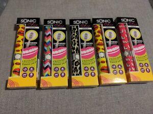 Sonic Chic Urban Toothbrush Job Lot of 5 - Brand New Sealed - Battery Toothbrush