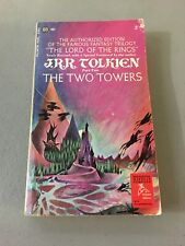 RARE! THE TWO TOWERS by J.R.R. TOLKIEN PB BOOK 1971 Part Two Authorized Edition