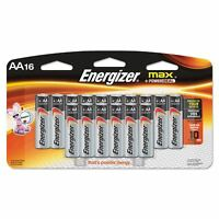 ENERGIZER Max AA 16 ct Batteries NEW SEALED BOX