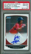 2013 Bowman Chrome Auto Keury De La Cruz PSA 10 Rookie Red Sox Autograph