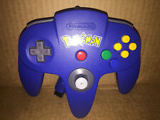 Official Pokemon Pikachu Blue & Yellow Nintendo 64 Controller N64