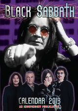 Black SABBATH Calendar 2013 NEW & OVP