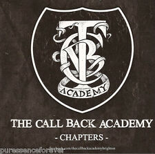 THE CALL BACK ACADEMY - Chapters EP (UK 3 Tk DJ CD Single) (Rock Sound Magazine)
