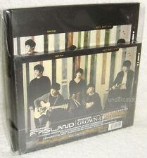 F.T Island FTIsland Mini Album Vol.4 GROWN-UP Taiwan Ltd CD+Special Book