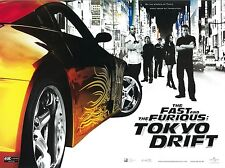 The Fast and the Furious poster - Tokyo Drift movie poster  : 12 x 16 inches