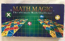 Math Magic Board Game 1996