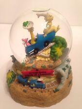 Dr. Seuss Snow Globe Universal Studios Island Of Adventure Green Eggs Train, Euc