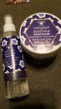Bolero 2 Piece Set Coconut & Rose Milk Facial Scrub Facial Mist