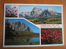 AK Seiser Alm Alpe di Siusi Schlerngebiet Dolomiten Südtirol 4 Ansichten   2201