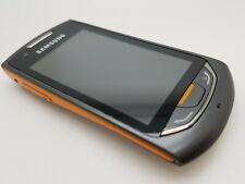 VGC Samsung Monte S5620 - Black/Orange (Unlocked Including Three) Mobile Phone