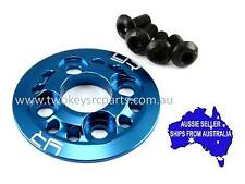 Blue alloy spur gear support plate for HPI Sprint 2 1:10 RC car also TA05 XV01