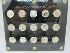 New listing 1950-1964 United States Proof Roosevelt Dimes