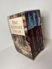 Like NEW  3 vol set Bible Reference Library softcover Books Pub Int'l